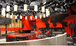 TV Studio in Amsterdam Royalty Free Stock Image