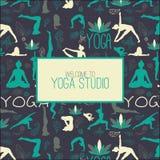 Studio de yoga Images libres de droits
