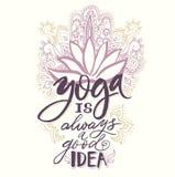 Studio de yoga d'affiche et logo de classe de méditation, icônes et éléments de conception Éléments de conception de soins de san illustration stock