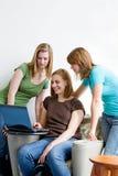 studio degli studenti di college Immagini Stock Libere da Diritti