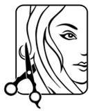 Studio dei capelli Immagini Stock Libere da Diritti