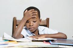 Studio del bambino Fotografie Stock Libere da Diritti