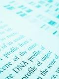 Studio del delineamento del DNA Fotografie Stock Libere da Diritti