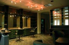 Studio del parrucchiere fotografia stock