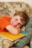 Studio del ragazzo fotografie stock libere da diritti