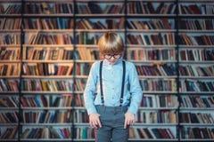 Studio del ragazzo fotografia stock libera da diritti