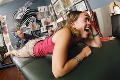Studio del tatuaggio immagine stock libera da diritti