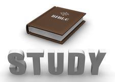 Studio della bibbia illustrazione di stock
