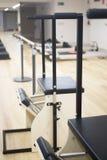 Studio della palestra della macchina di Pilates Fotografie Stock Libere da Diritti
