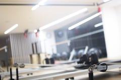 Studio della palestra della macchina di Pilates Fotografia Stock
