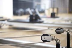 Studio della palestra della macchina di Pilates Immagini Stock Libere da Diritti