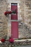 Studio della porta decorativa Fotografia Stock