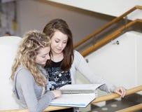 studio delle ragazze Immagine Stock Libera da Diritti