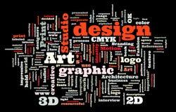 Studio der grafischen Auslegung Stockfotos