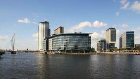 Studio di BBC a Manchester stock footage