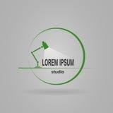 Studio di logo Fotografia Stock Libera da Diritti