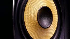 Studio di registrazione dell'altoparlante di musica di vibrazione sonora video d archivio