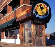 Studio di Sun, Memphis fotografia stock