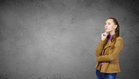 Studio-Eintragfaden über weißem Hintergrund Lizenzfreie Stockfotografie