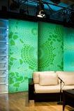 Studio et lumières de TV   image stock