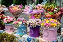 Studio för blom- design Arkivbilder
