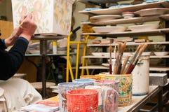 studio för konstnär s arkivbild