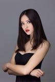 Studio fashion shot of Asian woman Stock Image