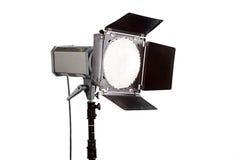 Studio flasf. Studio flash isolated on white background Stock Photo