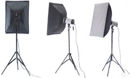 Studio flash Royalty Free Stock Photography