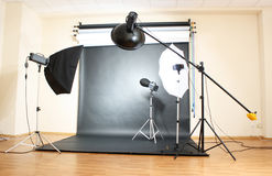 Studio flash Stock Image
