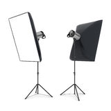Studio flash Royalty Free Stock Images
