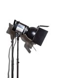 Studio flash isolated on white Royalty Free Stock Images