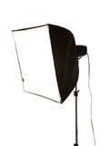Studio flash with softbox Stock Photography