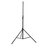 Studio flash stand over isolated white background Royalty Free Stock Images