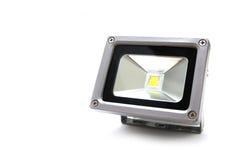 Studio geschossen von der LED-Flut-Leuchte Lizenzfreies Stockbild