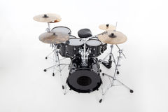 Studio image of drums on white background Stock Image