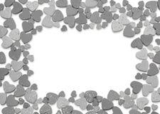 Studio image Valentine hearts Stock Photography