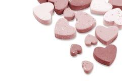 Studio image Valentine hearts Royalty Free Stock Photo