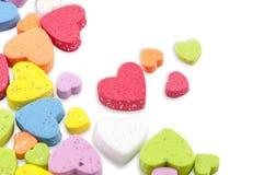 Studio image Valentine hearts Stock Photos