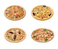 studio italien d'isolement de pizza de cuisine Photographie stock