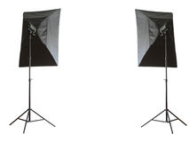 Studio lamps Stock Photos