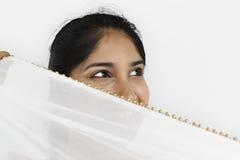 Studio-Leute-Modell Shoot Lace Concept Stockfotografie