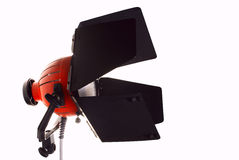 Studio light. Briliant studio light for recording video production Stock Photography