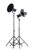 Studio light stand Royalty Free Stock Photo