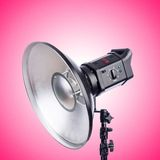 Studio light stand isolated on  white Stock Images