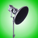 Studio light stand isolated on the white Royalty Free Stock Images