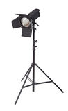 Studio lighting. Isolated on the white background stock images