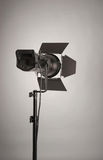 Studio lighting. Monoblock of professional studio lighting royalty free stock photo