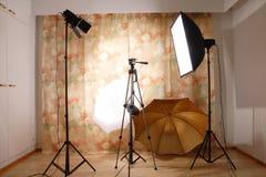 Studio lighting Stock Photography