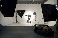 Studio Lighting. Stock Photo